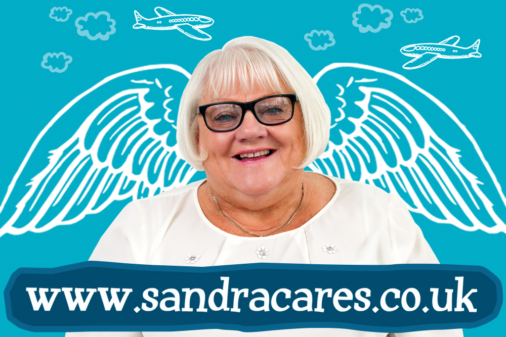 Say Hello to Sandra | FairPlane UK image