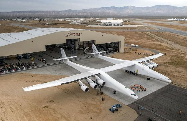 World's largest plane prepares for maiden flight | FairPlane UK image