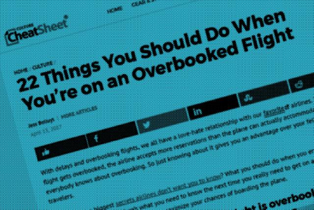 Oh no...you're on an overbooked flight | FairPlane UK image